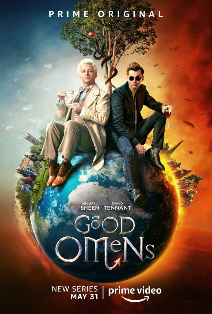 Amazon Prime's Good Omens coming 31 May 2019